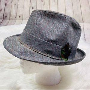 FitzGerald Boston Men's Vintage Fedora Hat Sz L